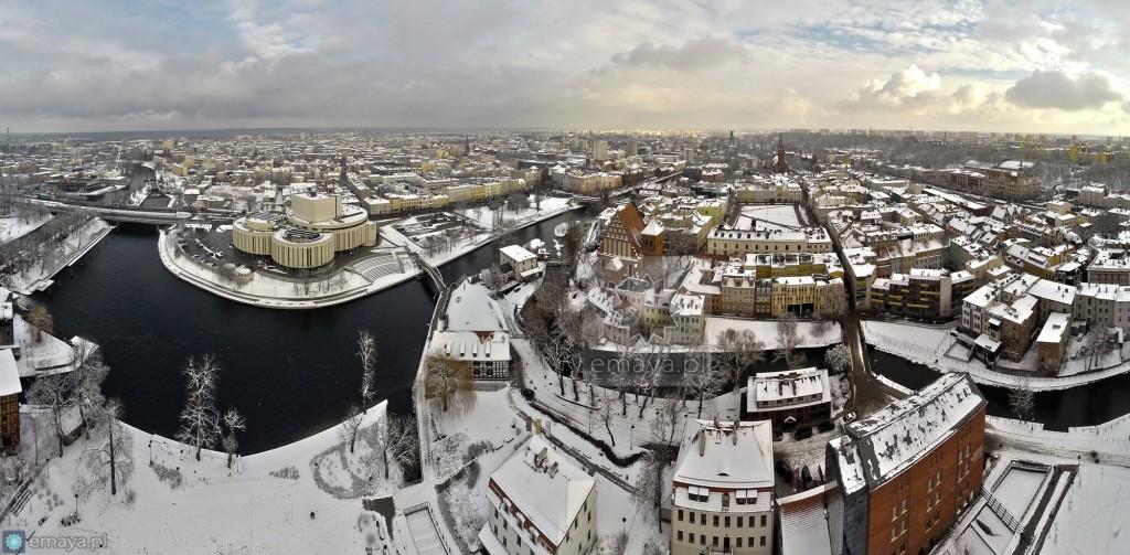zima2015 Panorama bydgoszcz