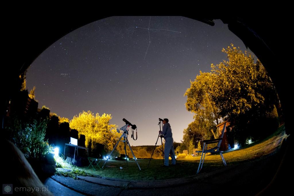 nocne obserwacje sierpien 2015